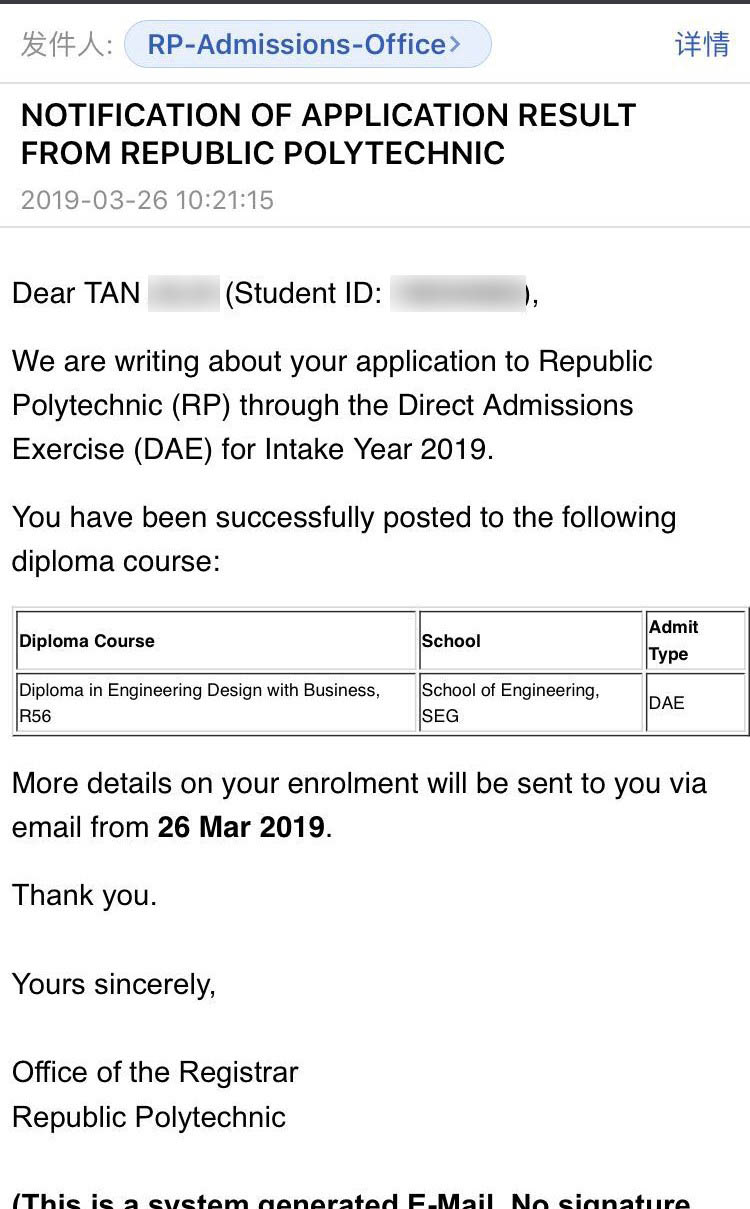 Tan Jilai RP - Diploma in Engineering Design with Business