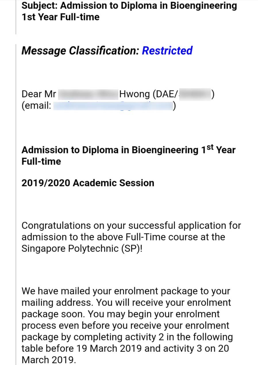 Andreas Wira Hwong SP - Diploma in Bioengineering